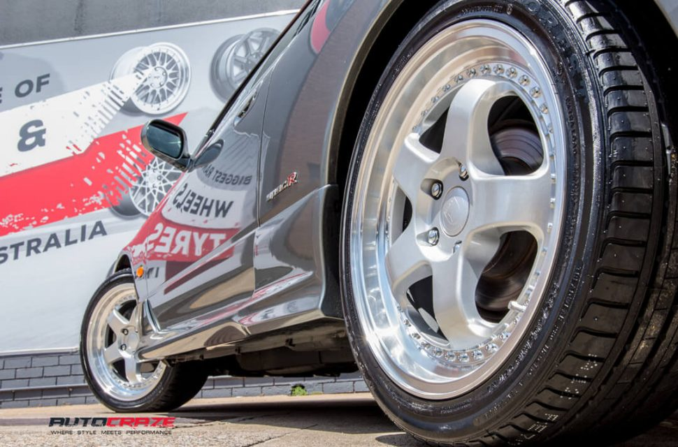 Nissan S15 Envisio RS1 Wheels Rear Fitment Close Up Shot Gallery Janurary 2018