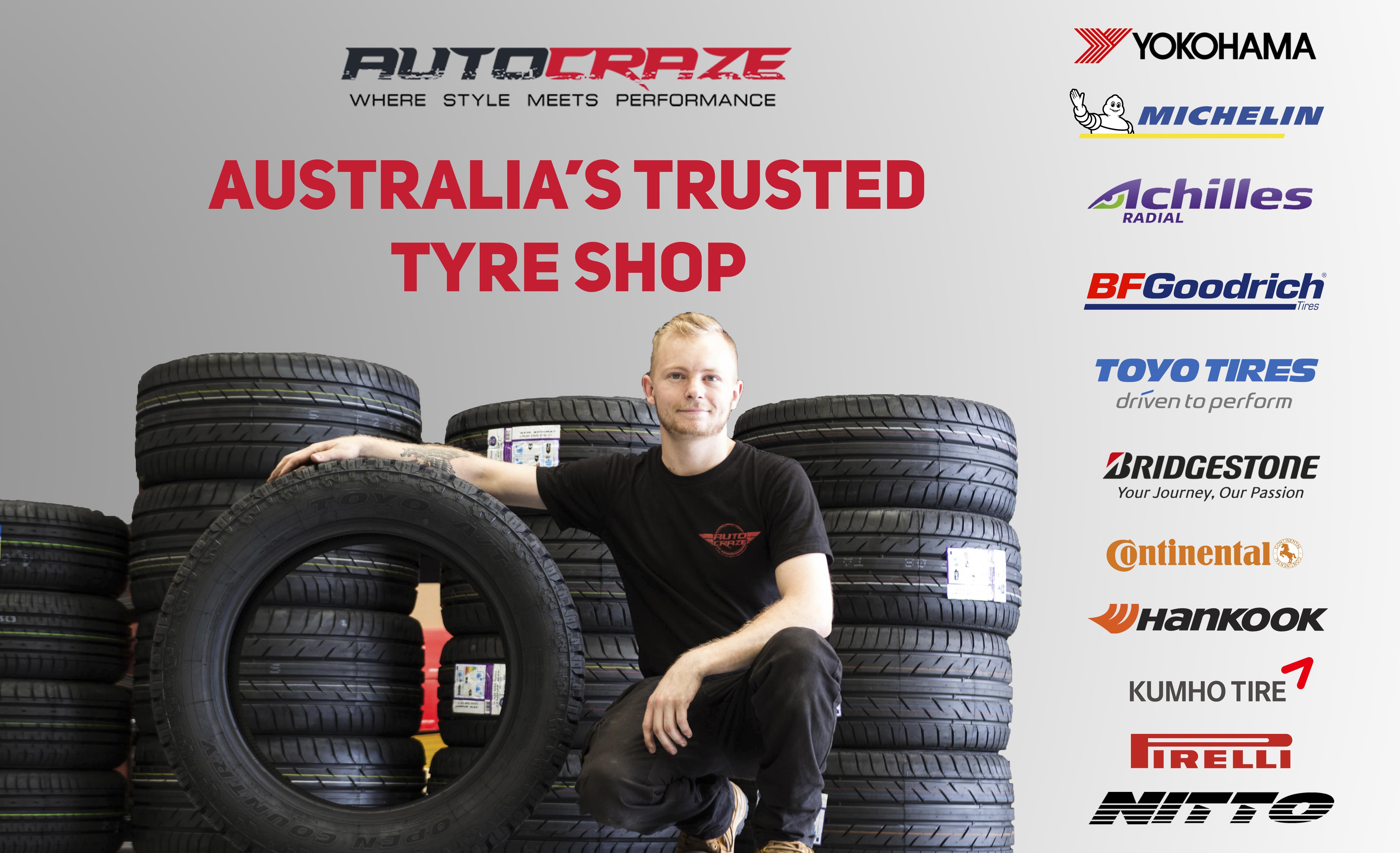 Tyre shop online