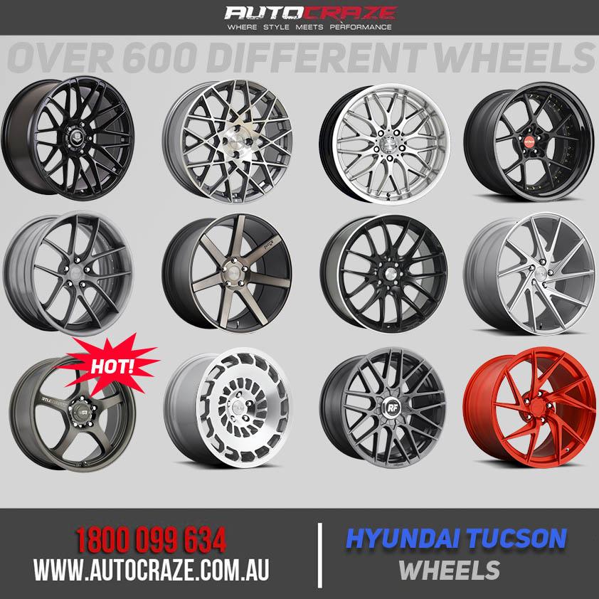 Hyundai Tucson Wheels | Tucson Alloy Rims For Sale Australia