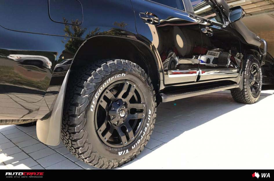 Toyota landcruiser with fuel wheels pump matte black rear wide wheel shot gallery january 2018