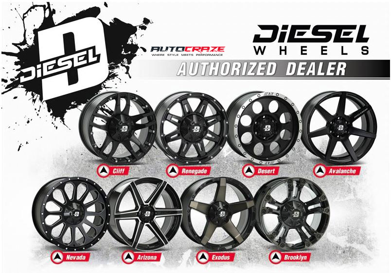Diesel wheels authorised dealer