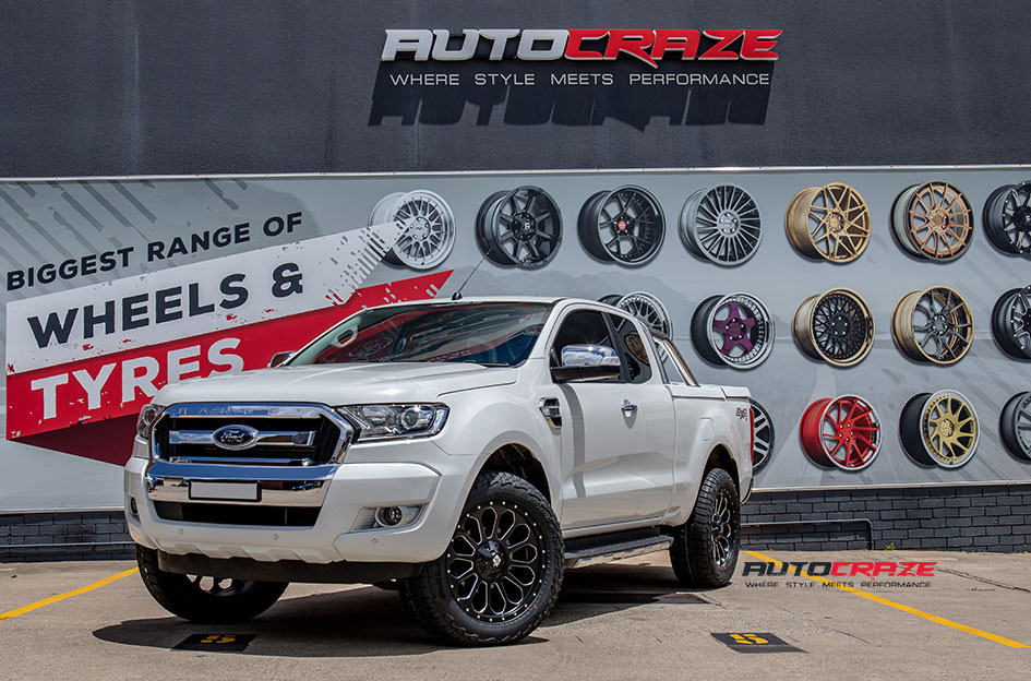 Ford Ranger Diesel Nevada Wheels Falken Tyres Front Close Shot Gallery Nov 2018
