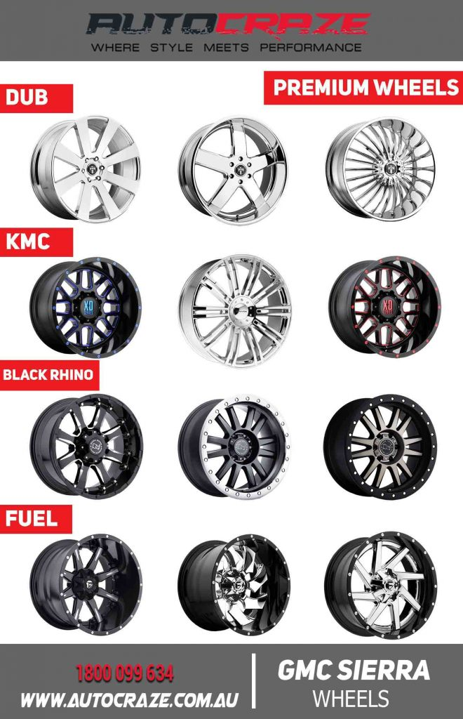 GMC SIERRA PREMIUM WHEELS