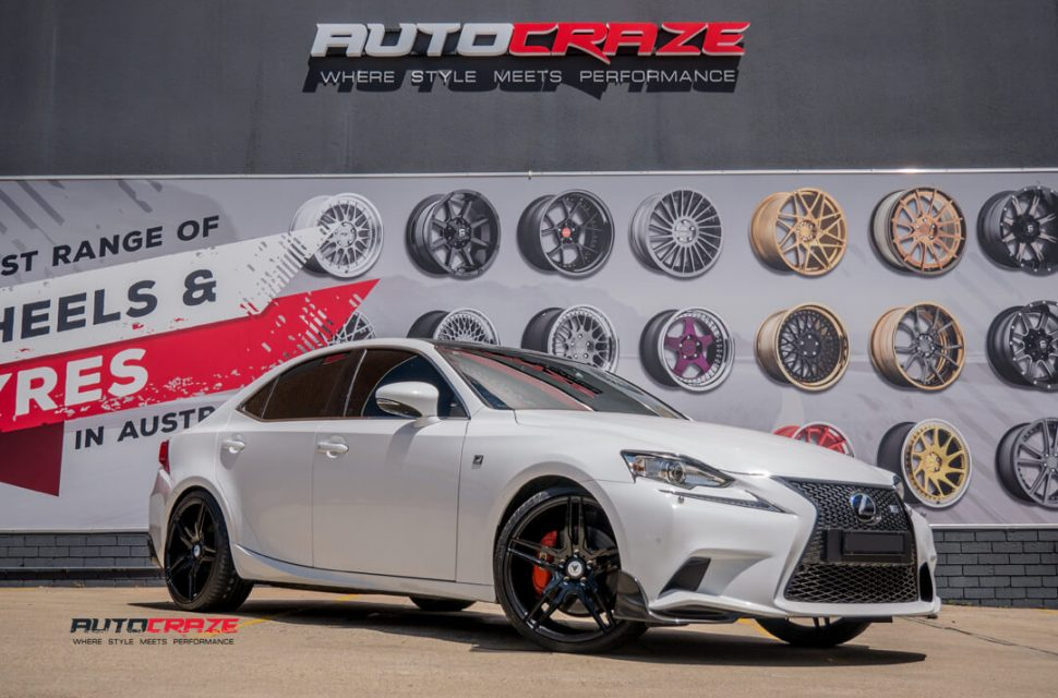 Lexus IS350 Asanti ABL12 Wheels Front Close Shot Gallery February 2018