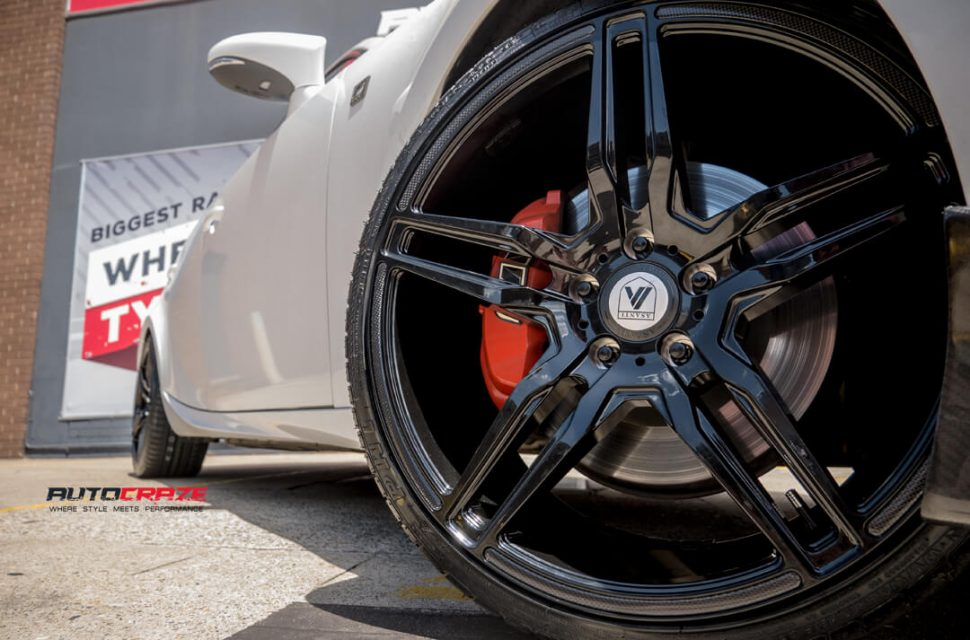 Lexus IS350 Asanti ABL12 Wheels Front Fitment Close Up Shot Gallery February 2018