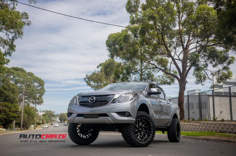 Mazda BT-50 Moto Metal MO985 Wheels Front Far Shot Gallery February 2018
