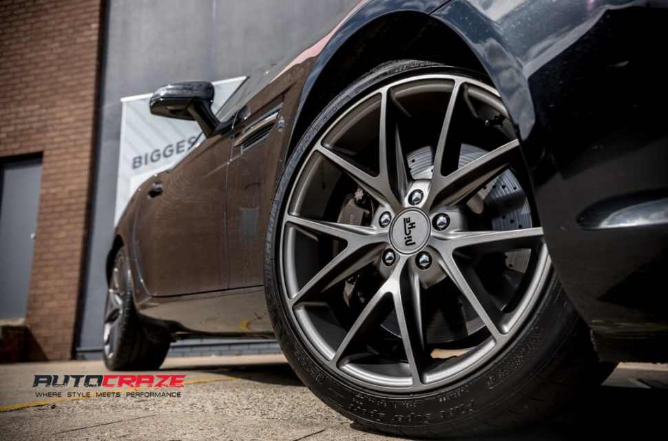 Mercedes SLK 350 Niche Misano Wheels Michelin Tyres Front Fitment Close Up Shot Gallery March 2018