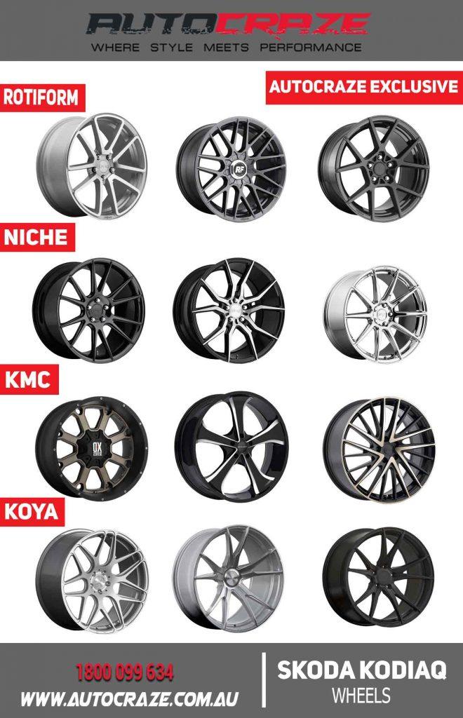 SKODA KODIAQ autocraze exclusive wheels