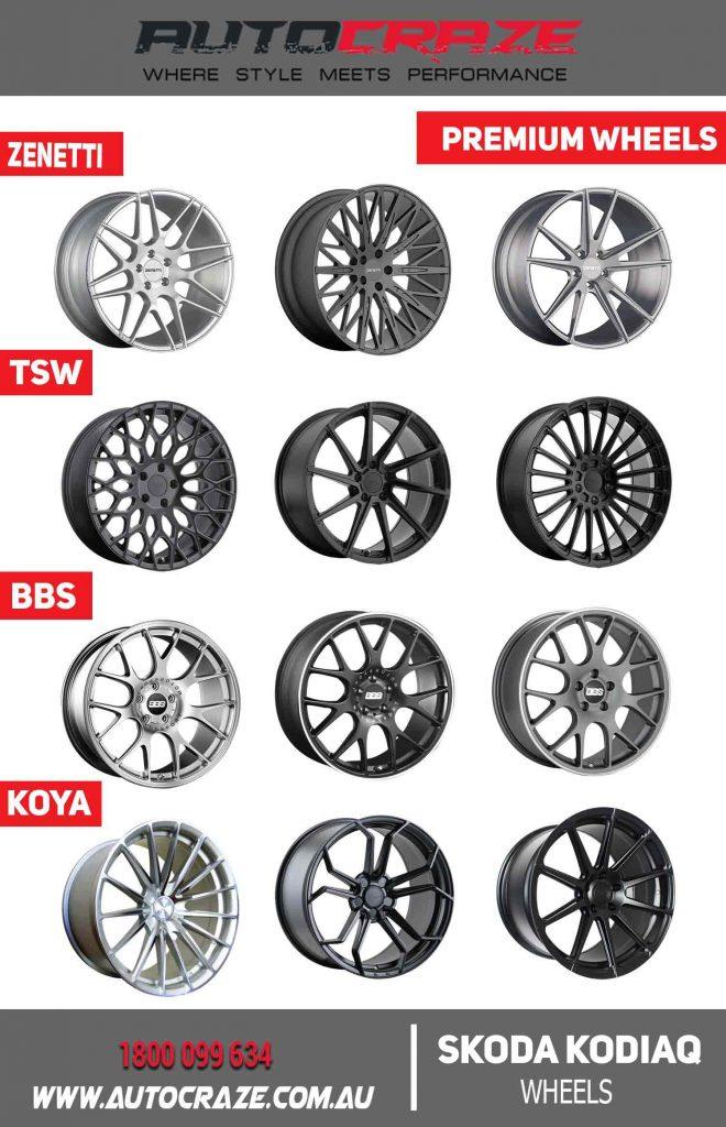SKODA KODIAQ premium wheels