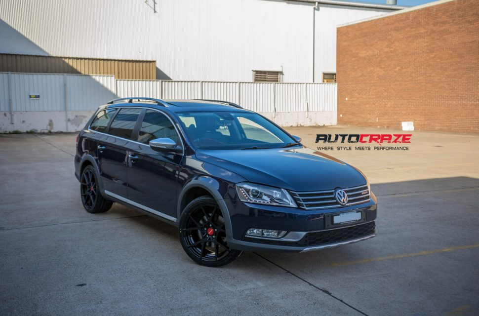 Volkswagen Passat Rotiform KPS Wheels Bridgestone Tyres Front Close Shot Gallery March 2018