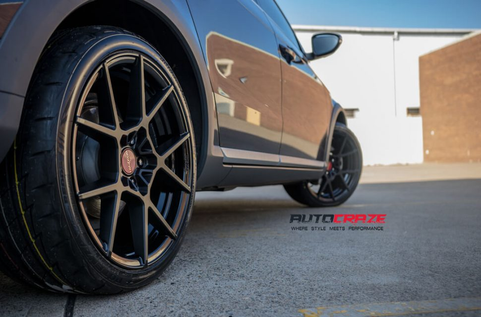 Volkswagen Passat Rotiform KPS Wheels Bridgestone Tyres Rear Fitment Close Up Shot Gallery March 2018