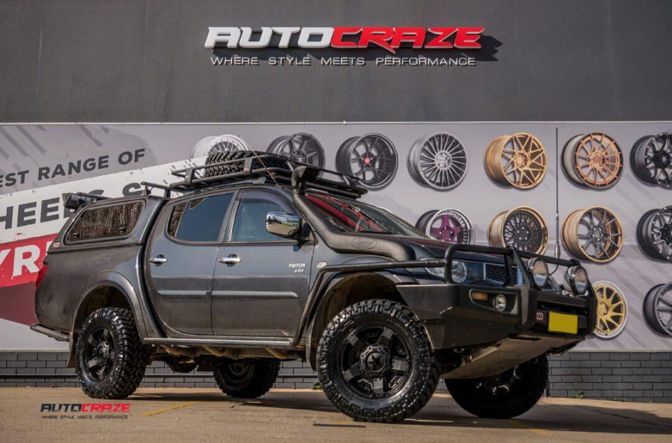 Mitsubishi triton tyres
