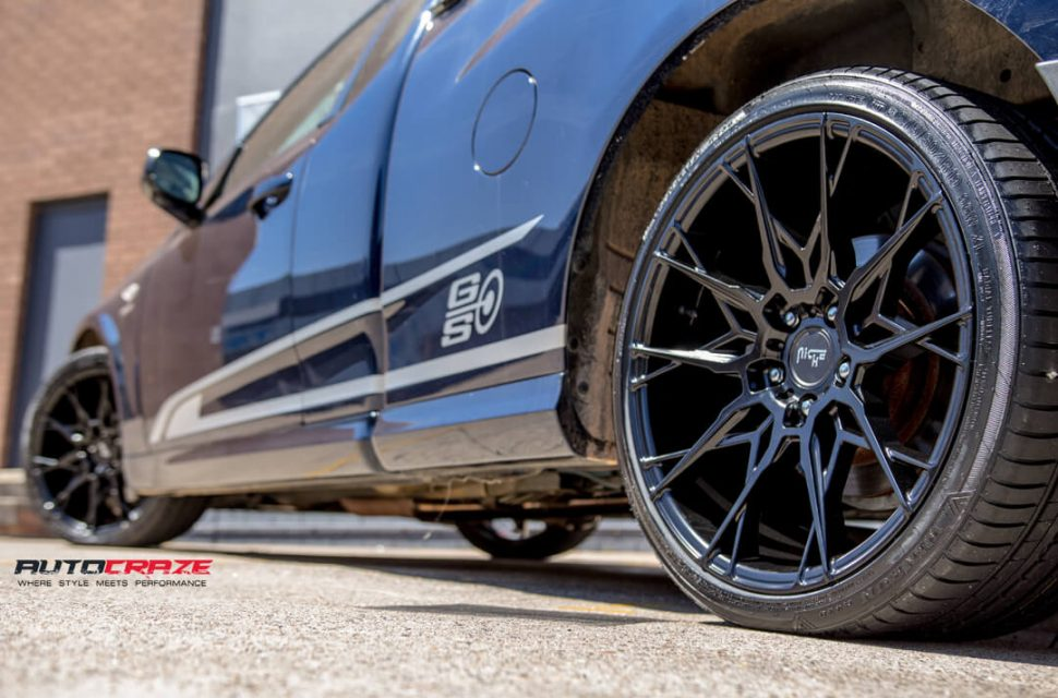 Ford Falcon Niche Staccato Wheels Dunlop Tyres Rear Fitment Close Up Shot Gallery Janurary 2018