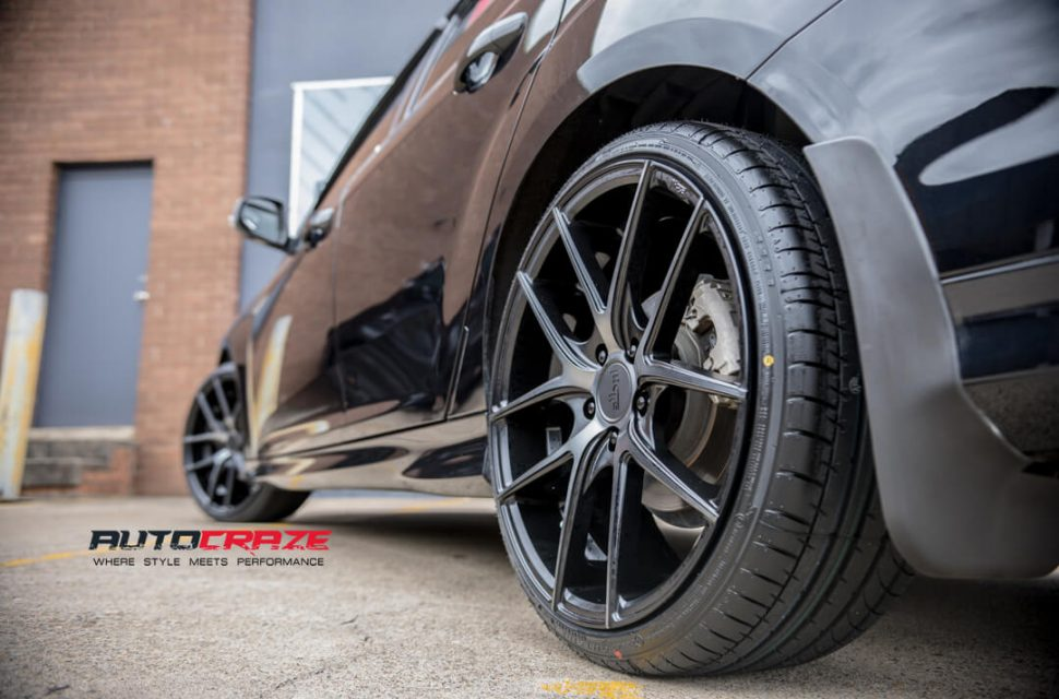 Ford Focus Niche Targa Wheels Rear Fitment Close Up Shot Gallery February 2018