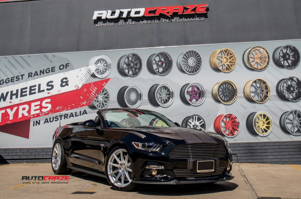 Ford Mustang Niche Essen Wheels Nitto Invo Tyres Front Close Shot Gallery March 2018