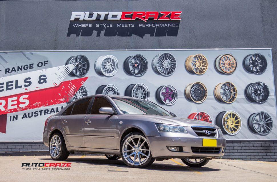 Hyundai Sonata Rotiform SPF Wheels Front Close Shot Gallery Janurary 2018