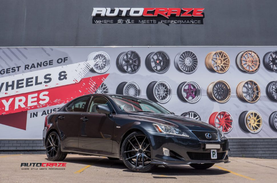 Lexus IS250 Niche Targa Wheels Kumho Wheels Front Close Shot Gallery February 2018