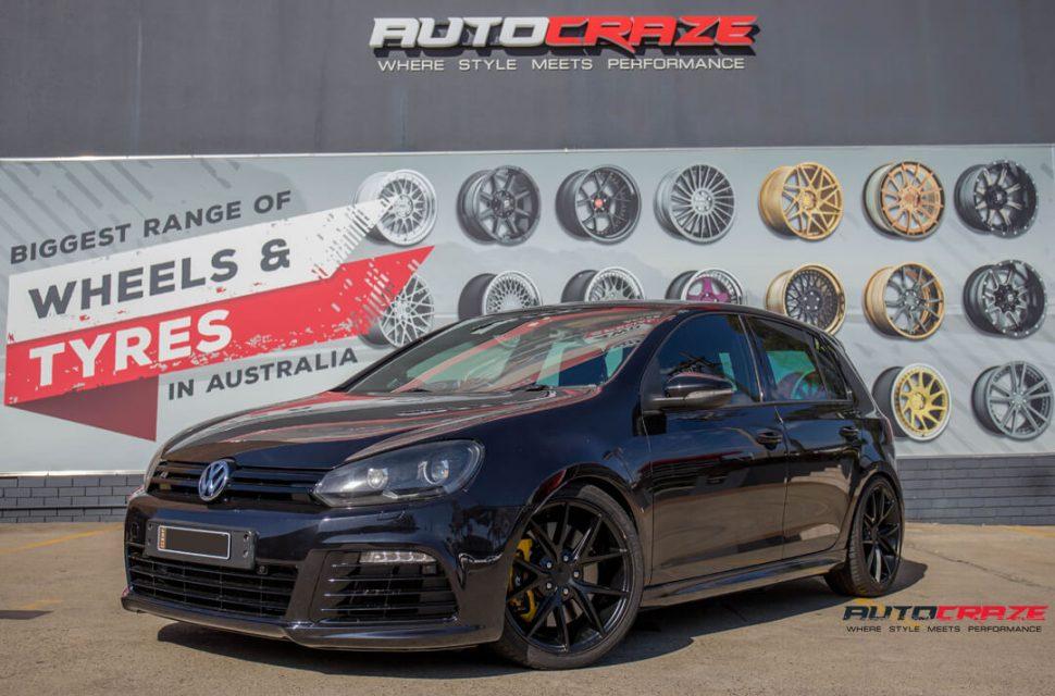 Volkswagen Golf Niche Misano Wheels Front Close Shot Gallery April 2018