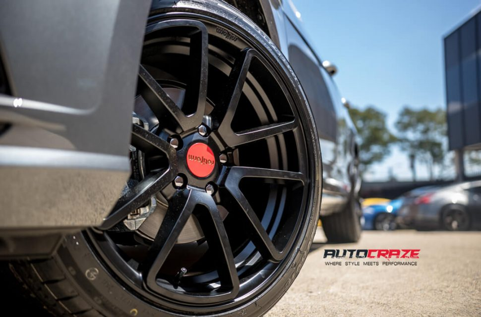 Volkswagen golf Rotiform SPF Wheels Front Fitment Close Up Shot Gallery March 2018