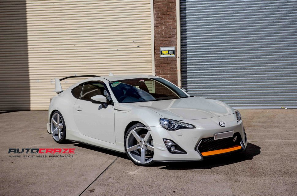 toyota 86 niche milan wheel front wide angle shot may 2018