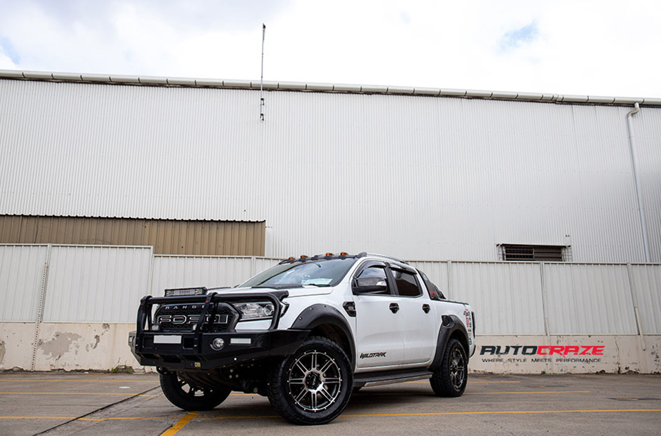 Ford-Ranger-Helo-HE900-Wheels-Nitto-Tyres-Head-Light-Cover-Smoked-Tail-Light-Front-Close-Shot-May-2018