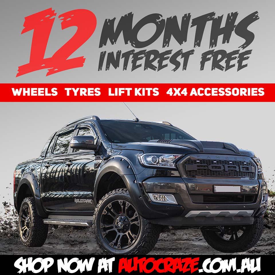 12 Months Interest Free Finance Ford Ranger AutoCraze