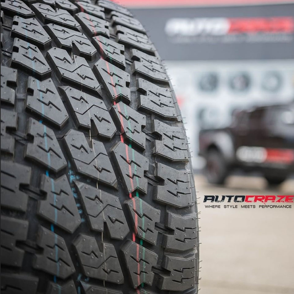 Nitto Terra Grappler G2 Tyre Review AutoCraze Front Shot
