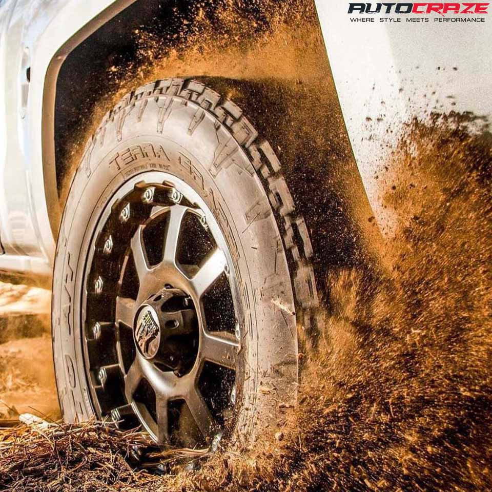 Nitto Terra Grappler G2 Tyre Review Off-Road Shot