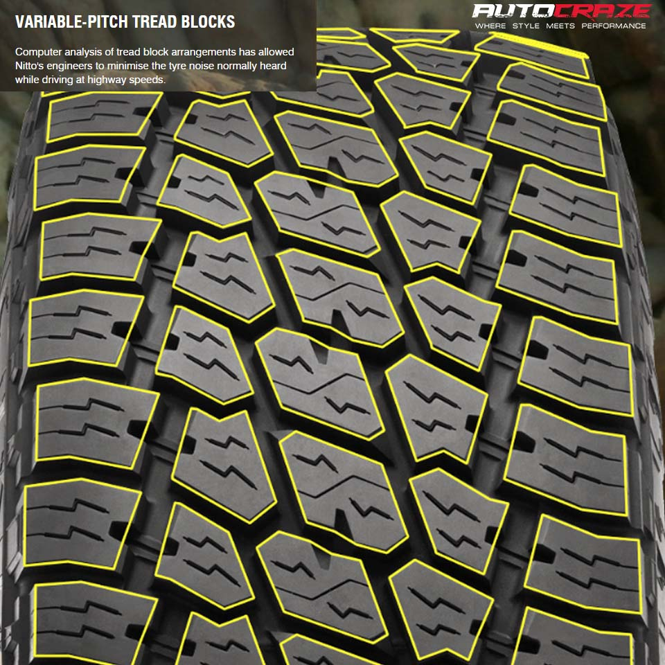 Nitto Terra Grappler G2 Variable Pitch Tread Blocks Review AutoCraze
