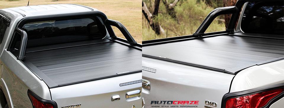 Grey Mitsubishi Triton Roller Shutter Showcase
