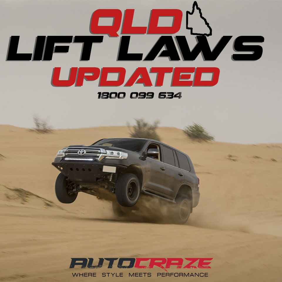Queensland 4×4 Lift Laws