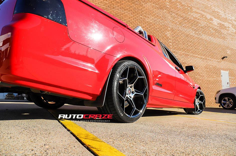 20Red Holden Commodore Inforged IFG40 Wheels Rear Fitment Shot Gallery July 2020_large