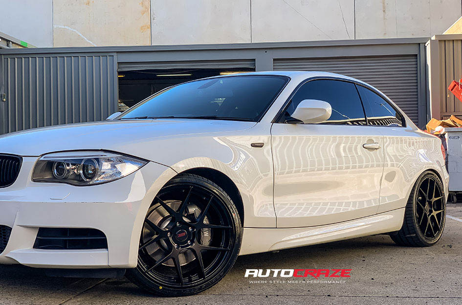 BMW 1 Series SSW Stage Wheels Front Fitment Shot Gallery May 2020