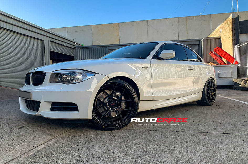 BMW 1 Series SSW Stage Wheels Front Shot Gallery May 2020