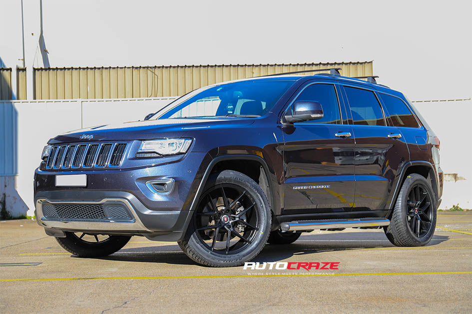 Jeep Grand Cherokee Inforged IFG39 Wheels Front Shot Gallery June 2020