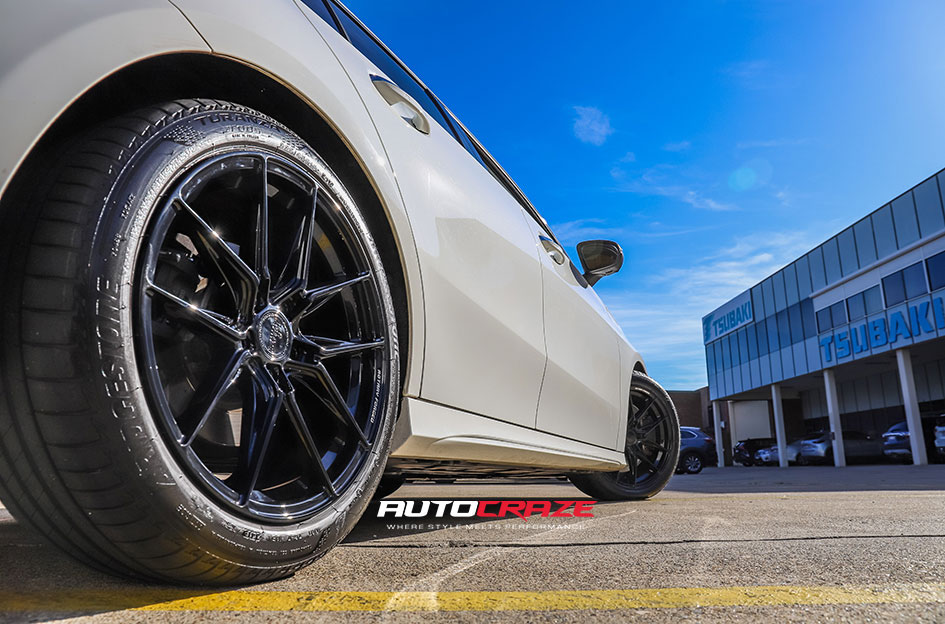 Mercedes A250 King Toxin Wheels Rear Fitment Shot Gallery March 2020