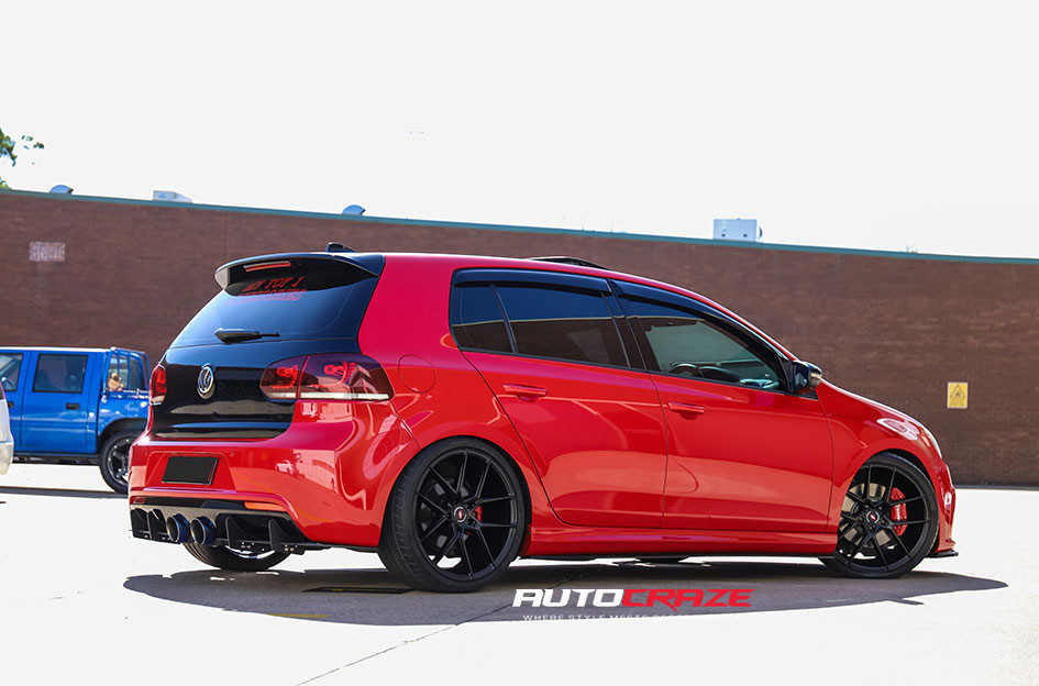 Volkswagen Golf R Inforged IFG39 Rear Shot Gallery May 2020