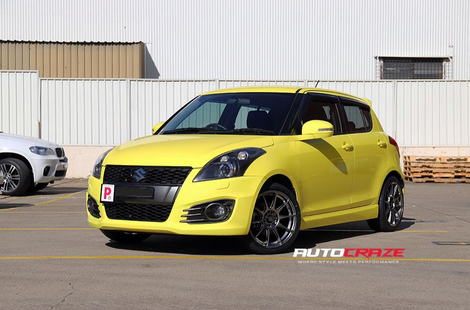 Suzuki Swift SSW Blade Wheels Front Shot