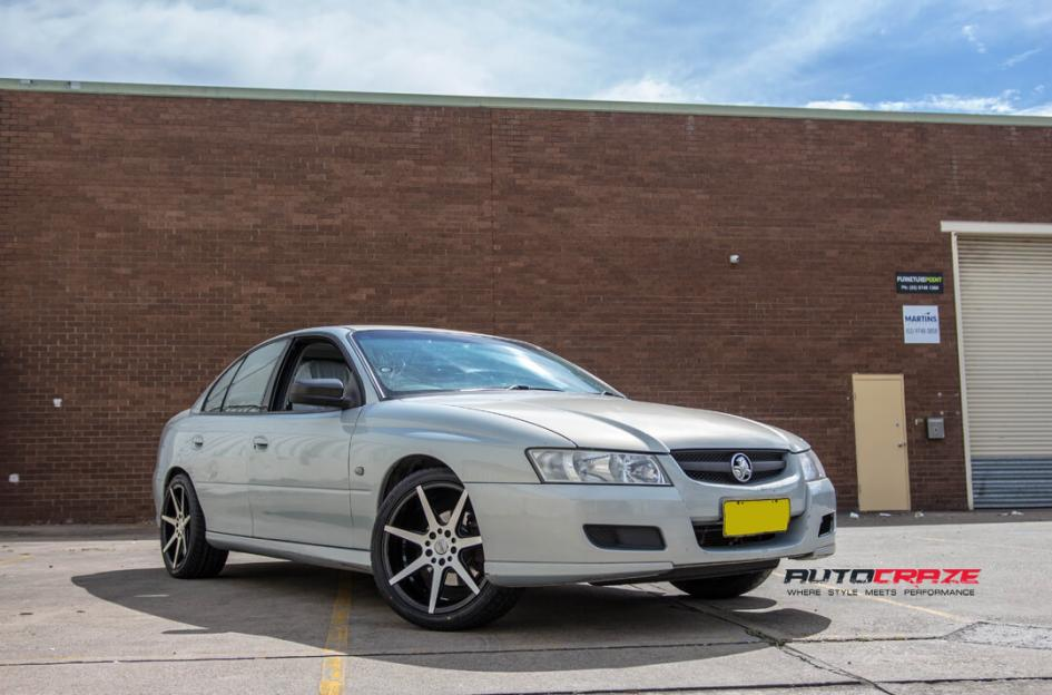 Holden Commodore SSW Faith Wheels Front Shot
