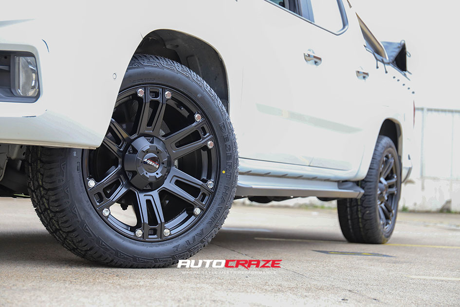 LDV T60 Accessories wheels and tyres