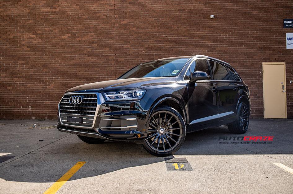 Audi Q7 Asanti ABL14 Wheels Davanti Wheels Front Close Shot Gallery August 2018