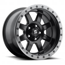FUEL TROPHY MATTE BLACK WITH ANTHRACITE RING