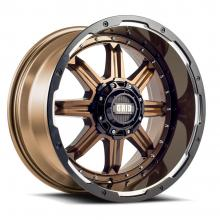 GRID  GD10 GLOSS BRONZE WITH GLOSS BLACK MILLED