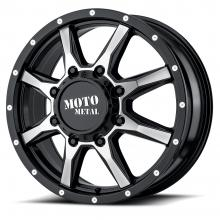 MOTO METAL MO995 GLOSS BLACK MACHINED