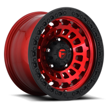FUEL ZEPHYR CANDY RED WITH MATTE BLACK RING