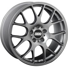 BBS CH-R MATTE TITANIUM WITH STAINLESS STEEL RIM PROTECTOR
