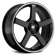 MOTEGI RACING MR116 GLOSS BLACK MACHINED EDGE