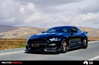Ford MUSTANG Vice Matte Bronze Black