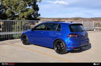 VOLKSWAGEN GOLF EFS3 MATTE BLACK  small