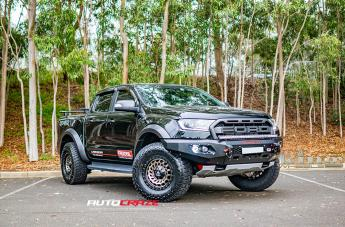 Ford RANGER RAPTOR ZOMBIE SATIN BLACK MACHINED BRONZE TINT